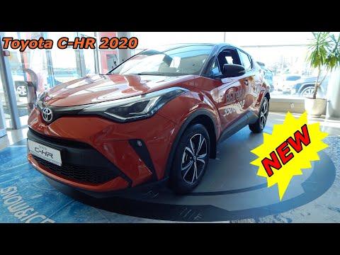 обновленная Toyota C-HR 2020  1.2 л 116 л.с вариатор 4х4 Cool за что просят два миллиона  ₽  обзор