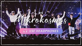 [8D + LIVE] BTS - Mikrokosmos | CONCERT EFFECT💿 [USE HEADPHONES] 🎧
