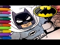 2017 The Lego Batman Coloring! Batman & Robin
