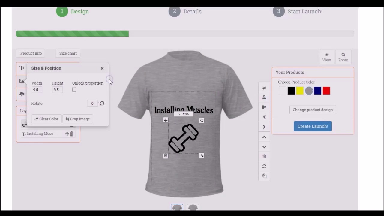 Design t shirts to sell - Design And Sell T Shirts Make Money With Www Instadzine Com