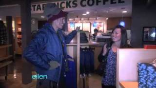Heidi Klum Pranks the WB Store