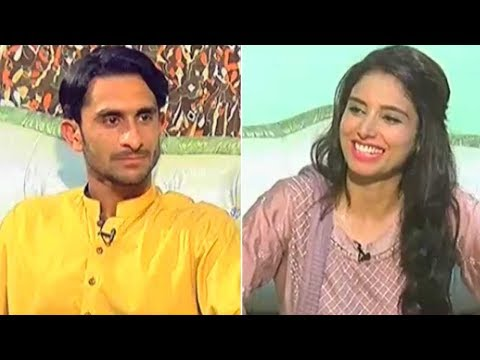 Hassan Ali Exclusive Interview - Eid Dunya Key Sang - Eid Special Day 3 - 28 June 2017