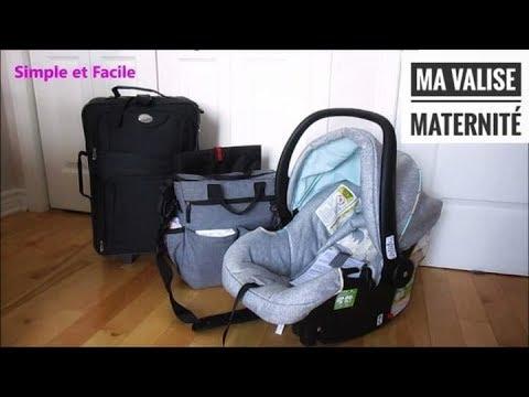 Ma valise de maternit pour maman et b b youtube - Couche maternite pour maman ...