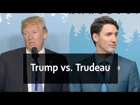 Trump vs. Trudeau: Contrasting their rhetoric at the G7 summit