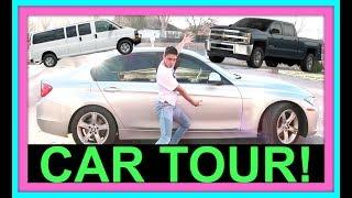 LARGE FAMILY CAR TOUR !