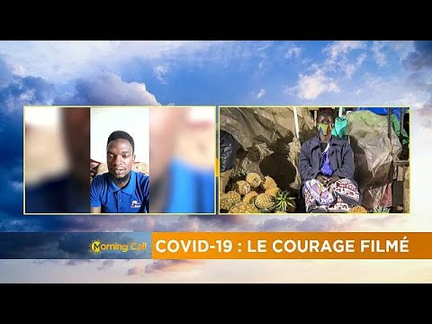 """""""Courage through a lens"""", a Ugandan journalist's COVID-19 chronicle"""