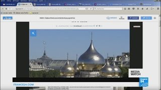 France: A site for Russian propaganda in the centre of Paris?(Subscribe to France 24 now : http://f24.my/youtubeEN FRANCE 24 live news stream: all the latest news 24/7 http://f24.my/YTliveEN Vladimir Putin has ..., 2016-10-12T19:13:06.000Z)