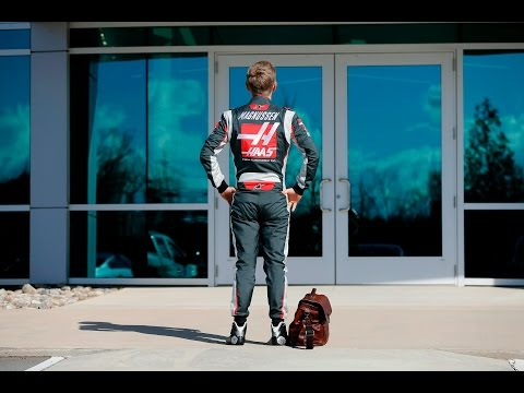 Kevin Magnussen's First Day