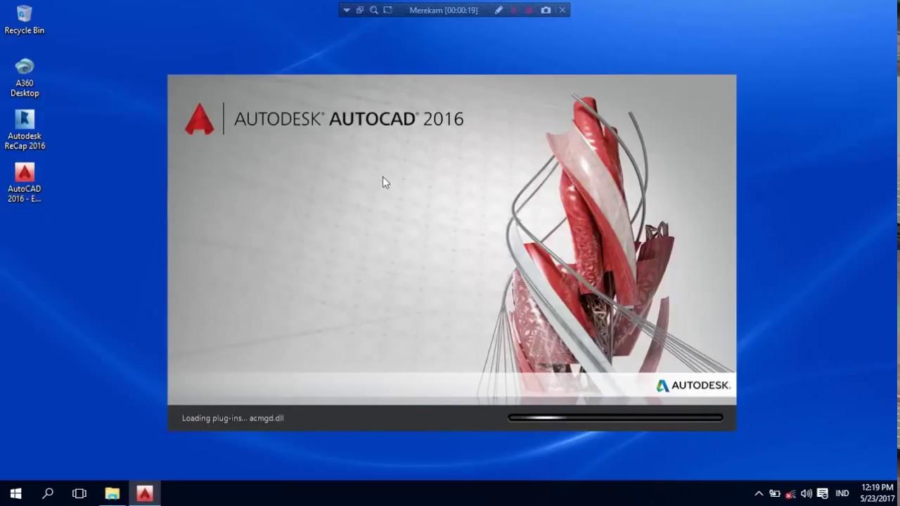 Cara Mengubah Tampilan Autocad 2016 Menjadi Tampilan Autocad Klasik Youtube