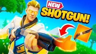 *NEW* Lever Action Shotgun in Fortnite! (OP?)