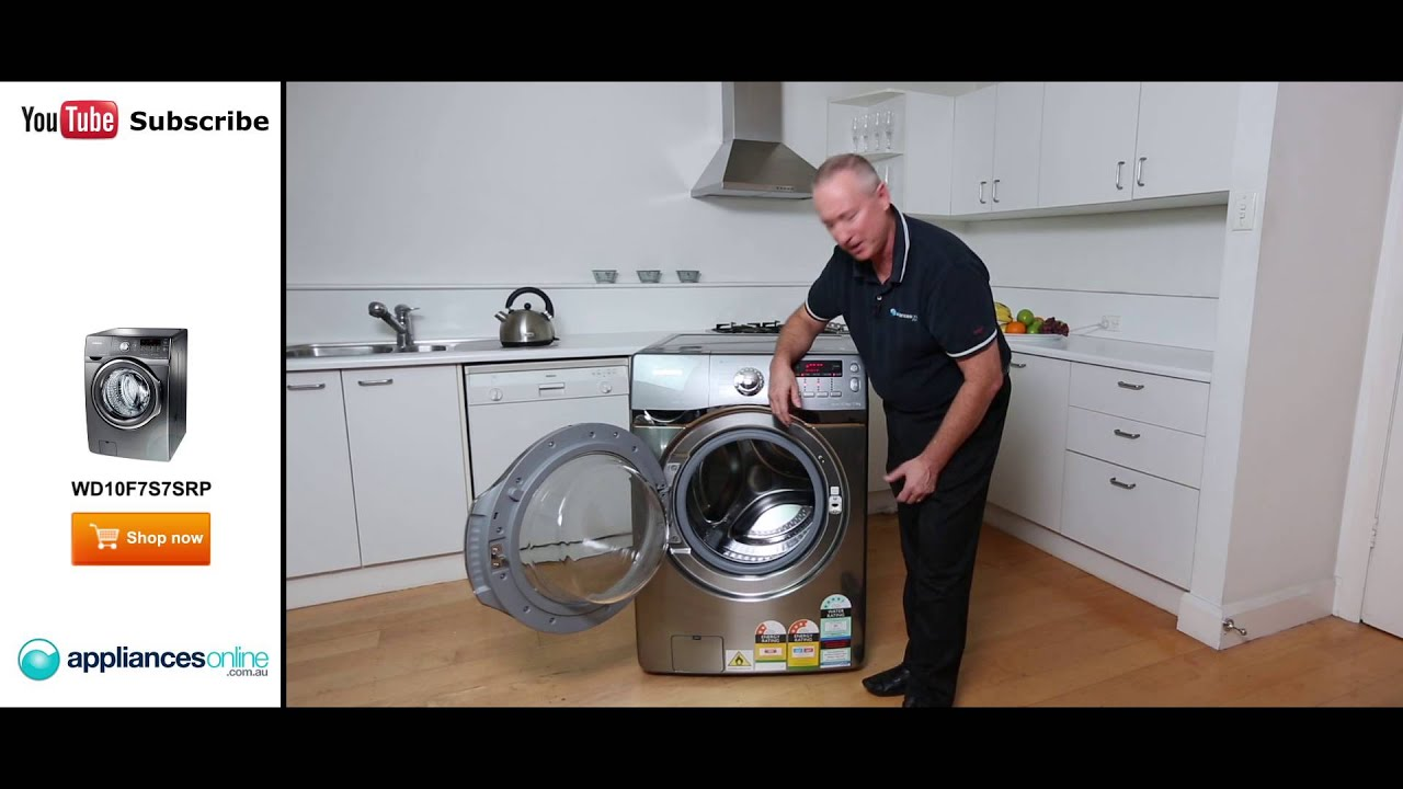 Lg all in one washer and dryer reviews - Wd10f7s7srp Samsung Washer Dryer Combo Reviewed By Expert Appliances Online Youtube