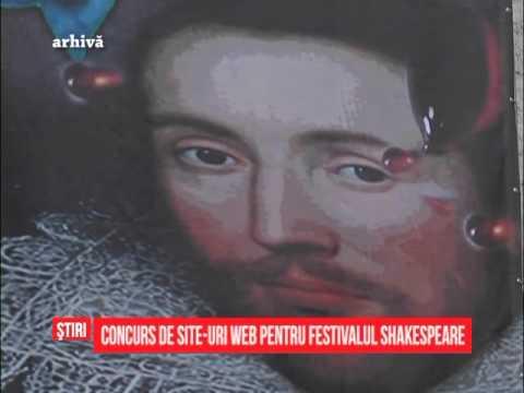 Concurs de site-uri web pentru Festivalul Shakespeare