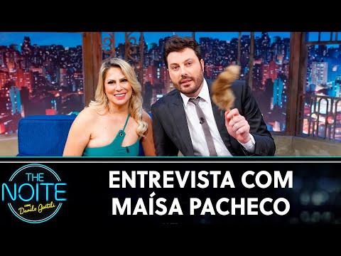Entrevista com Maísa Pacheco  The Noite 170619