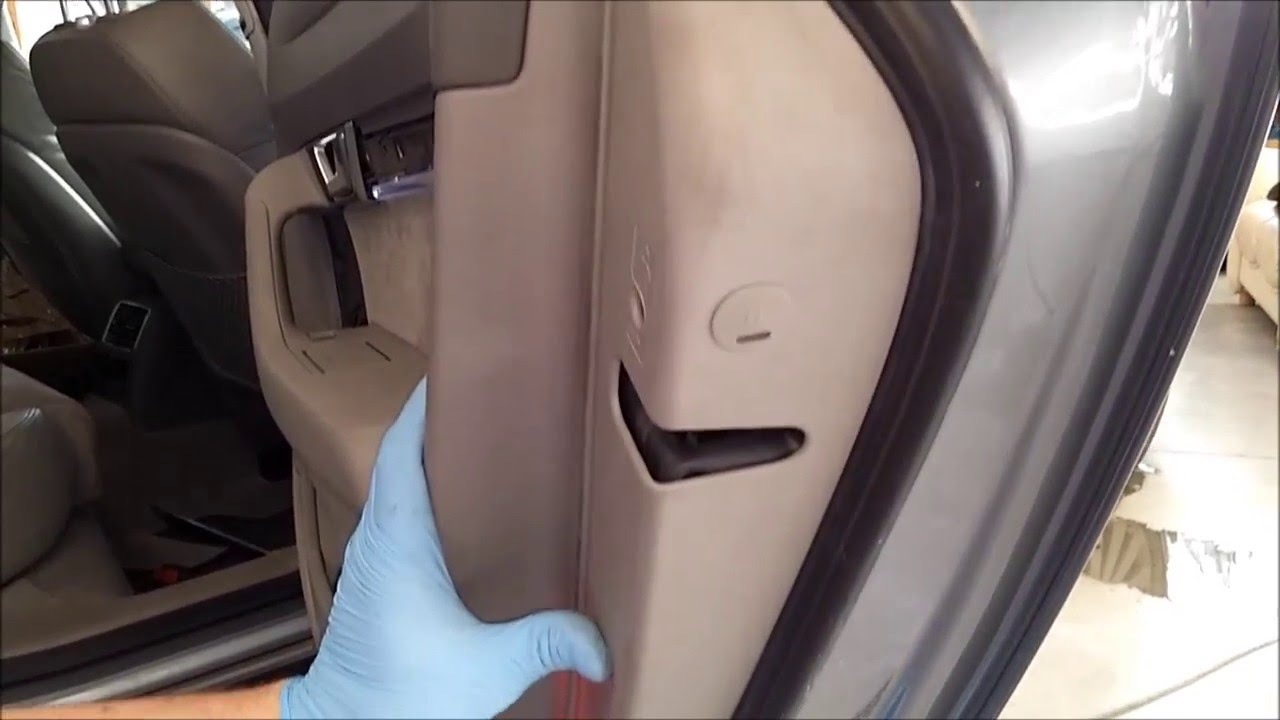 Audi A6 Door Panel And Glass Removal Youtube