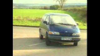 Old Top Gear 1990   Volkswagen Transporter And Toyota Previa
