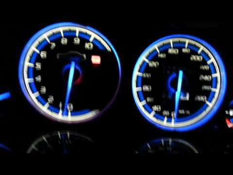Honda Prelude 5th gen custom dials + LED conv.