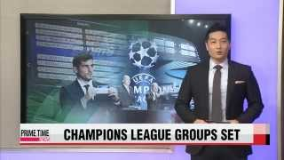 UEFA holds Champions League draw in Monaco; Cristiano Ronaldo scoops up Best Pl
