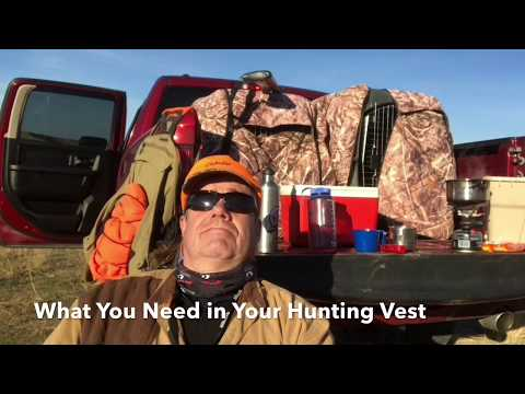 What's In My Hunting Vest