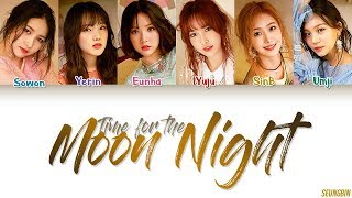 GFRIEND (여자친구) - 'Time For The Moon Night(밤)' Lyrics [Color Coded HAN|ROM|ENG]