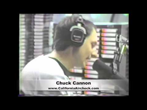 CHUCK CANNON Q106 RADIO KKLQ SAN DIEGO - RADIO VIDEO AIRCHECK