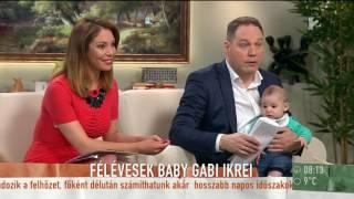 Cukibomba! Baby Gabi ikreitől elolvadt Pachmann Péter - tv2.hu/mokka