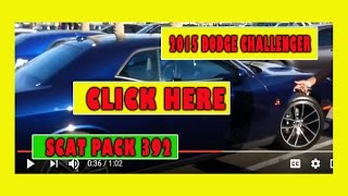 2015 Dodge challenger scat pack Blue call 602-7300