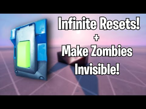 How To Make A Infinite Reset Button In Fortnite Creative *Updated*