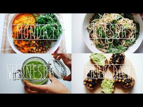 A WEEK OF DINNERS I VEGAN
