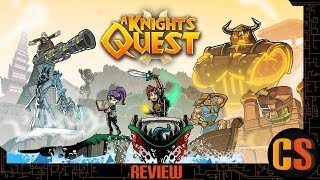 A KNIGHT'S QUEST - PS4 REVIEW (Video Game Video Review)