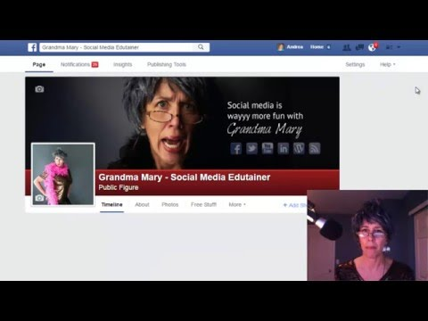 Facebook Changes   Login as Your Page and Like other Pages by Grandma Mary