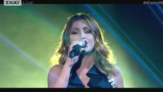Χ FACTOR GREECE 2016 | LIVE SHOW NINE | STEREO SOUL - ΕΛΕΝΑ ΠΑΠΑΡΙΖΟΥ