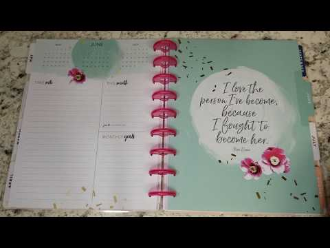 Empowered Woman - 2019 Classic Happy Planner Flip Through