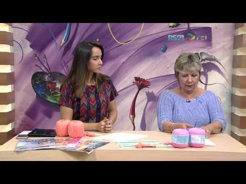 Mulher.com - 04/02/2017 - Colete em trico - Vitória Quintal PT1