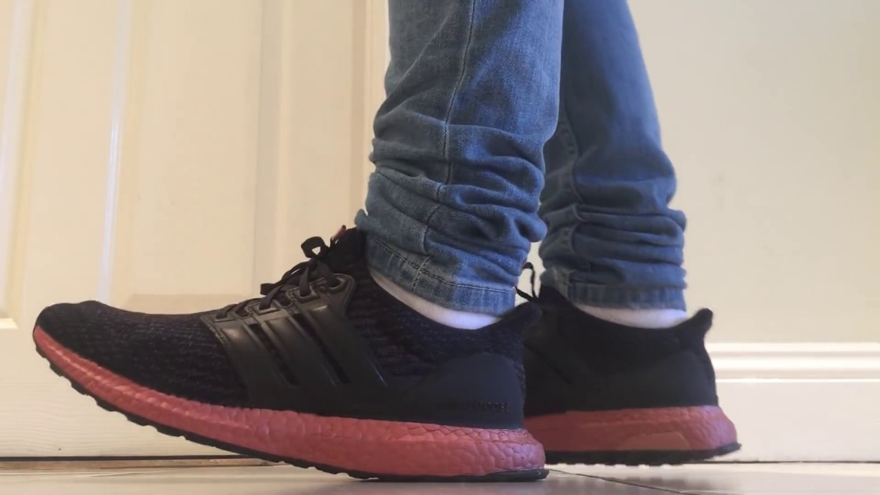 805ee43ce62 Adidas ultra boost 3.0 bronze on feet (tech rust) - YouTube