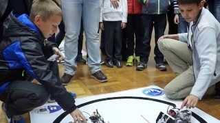 Робототехника. Соревнования роботов сумо