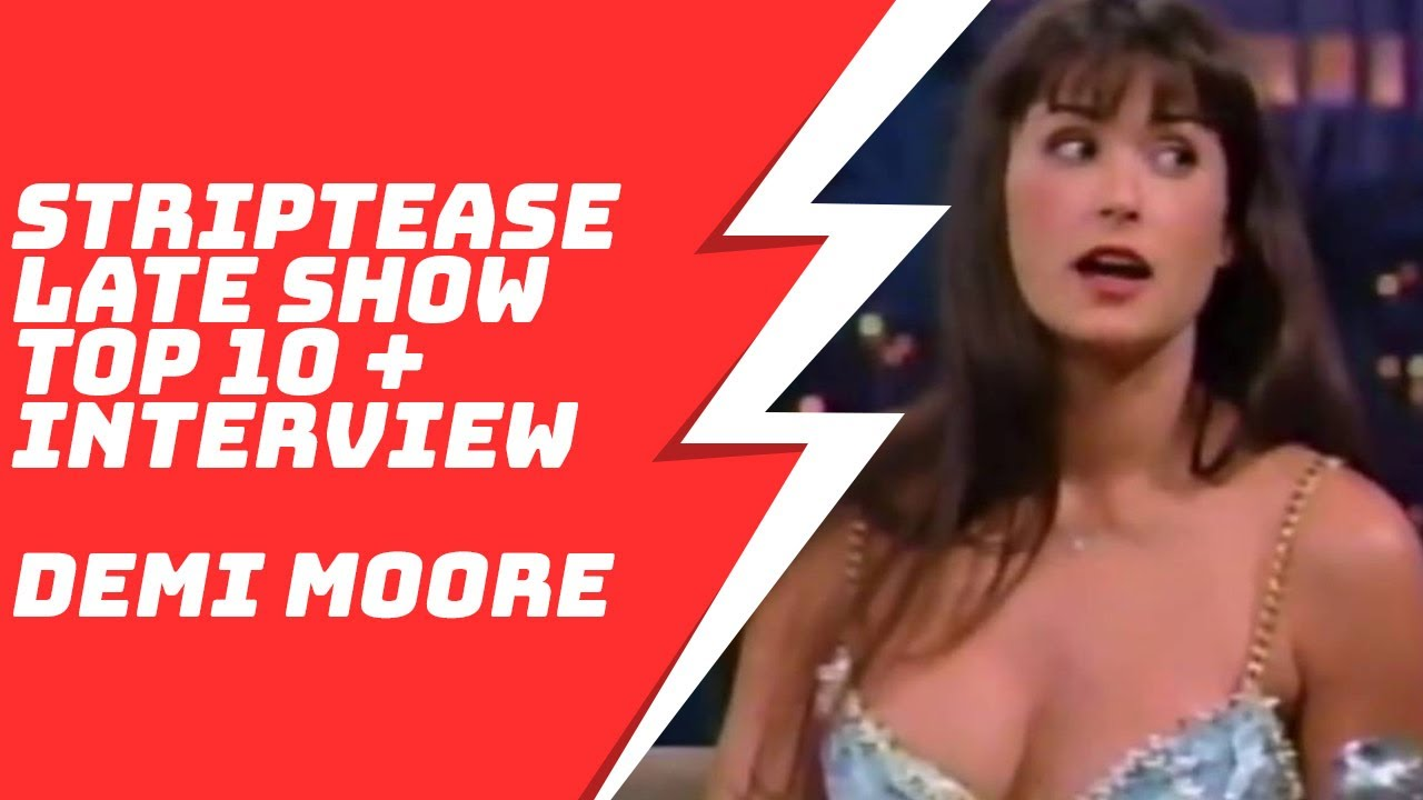 Download Demi Moore Top 10 Striptease and Interview on Late Show with David Letterman