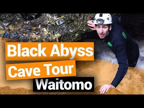 Black Abyss Cave Tour in Waitomo - New Zealand's Biggest Gap Year  Backpacking Guide New Zealand