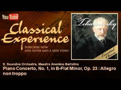 Tchaikovsky : Piano Concerto, No. 1, In B-Flat Minor, Op. 23 : Allegro Non Troppo