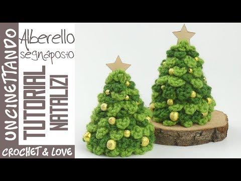 Albero Di Natale Uncinetto Youtube.Tutorial Albero Di Natale Ad Uncinetto Facile E Veloce Sub Eng Y Esp Youtube