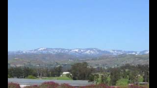 First Day of Spring in Ramona, CA 2012