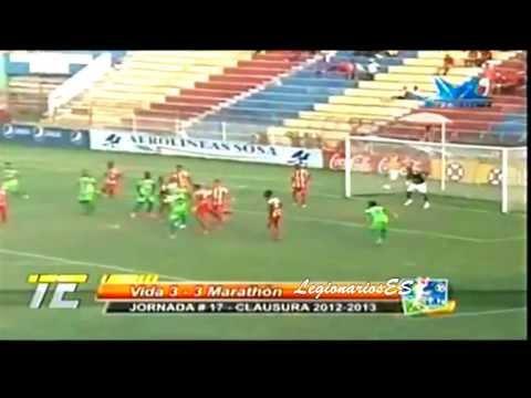 Lester Blanco - CD Vida 3-3 CD Marathon ( Resumen) Primera Division de Honduras Jornada 17