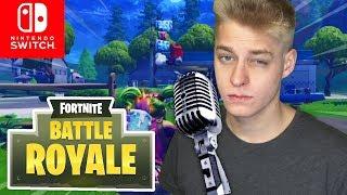 ASMR in FORTNITE! | Fortnite Battle Royale Nintendo Switch
