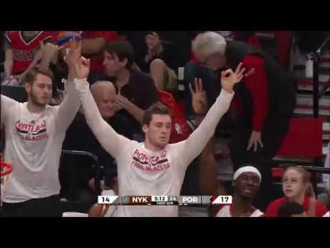 Damian Lillard Stays HOT vs Knicks | Drops 30 Points