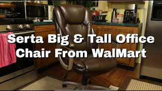 Serta Big & Tall Leather Office Chair From Walmart