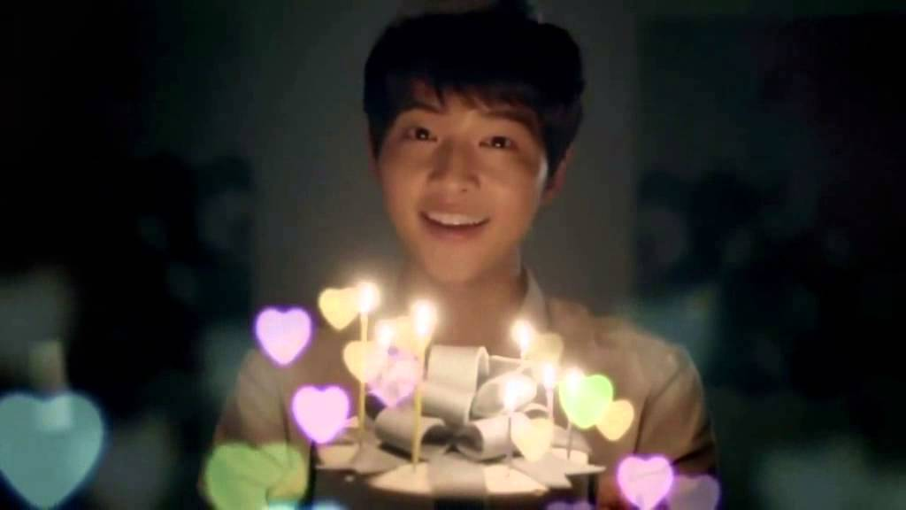 Birthday Cake Ki Images : Song Joong Ki singing happy birthday! - YouTube