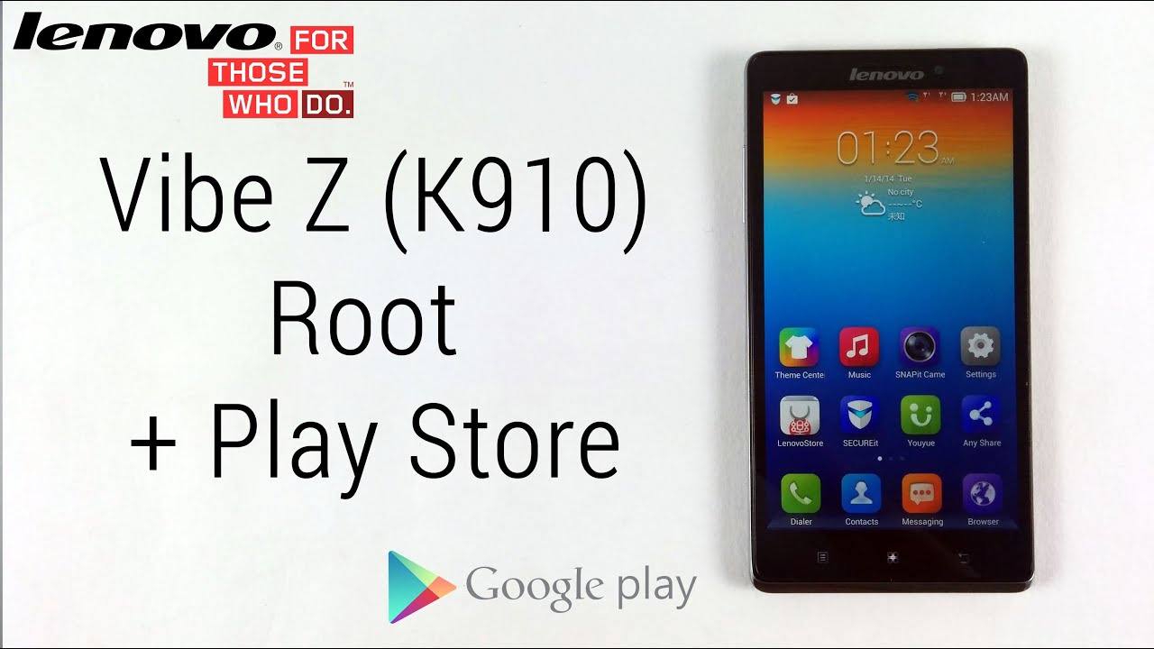 Phone App Store For Rooted Android Phones how to root the lenovo vibe z k910 install google apps incl play store