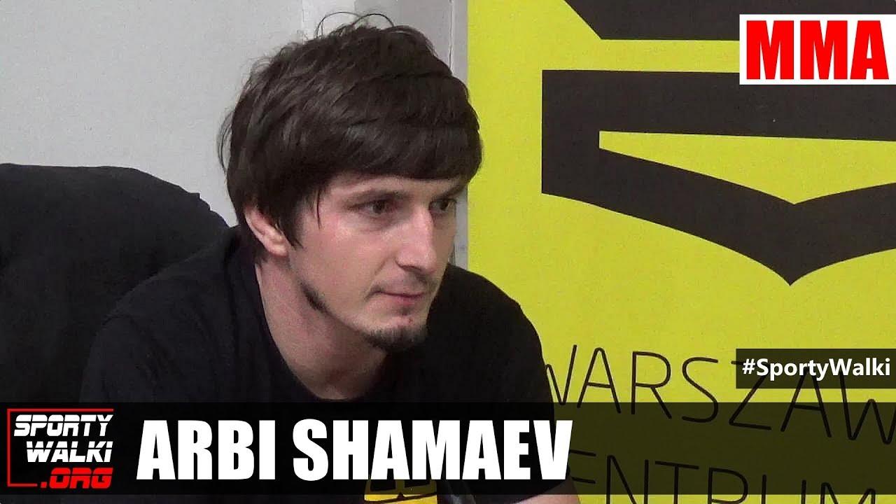 Arbi Shamaev: Mariusz Pudzianowski może walczyc z każdym