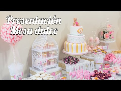 Presentación y planificación   #1 Mesa dulce para Baby Shower   Quiero Cupcakes!