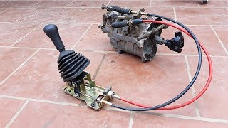 TECH - Full set Gearbox strong car 500 kg