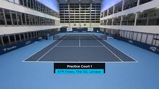 2019 Nitto ATP Finals: Live Stream Practice Court 1 (Friday)